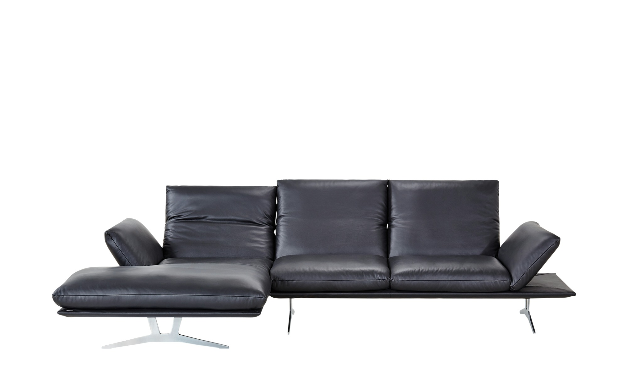 ecksofa francis breite h he 93 cm schwarz online kaufen bei woonio. Black Bedroom Furniture Sets. Home Design Ideas