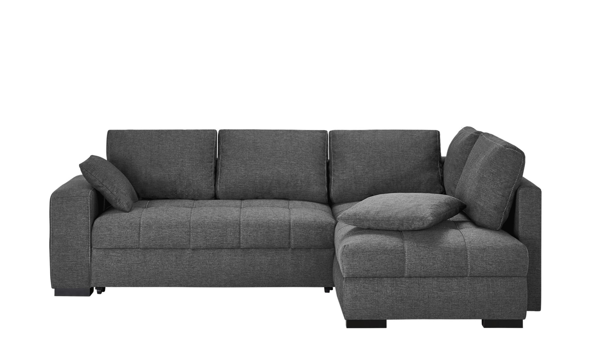 ecksofa gresa breite h he 90 cm grau online kaufen bei woonio. Black Bedroom Furniture Sets. Home Design Ideas