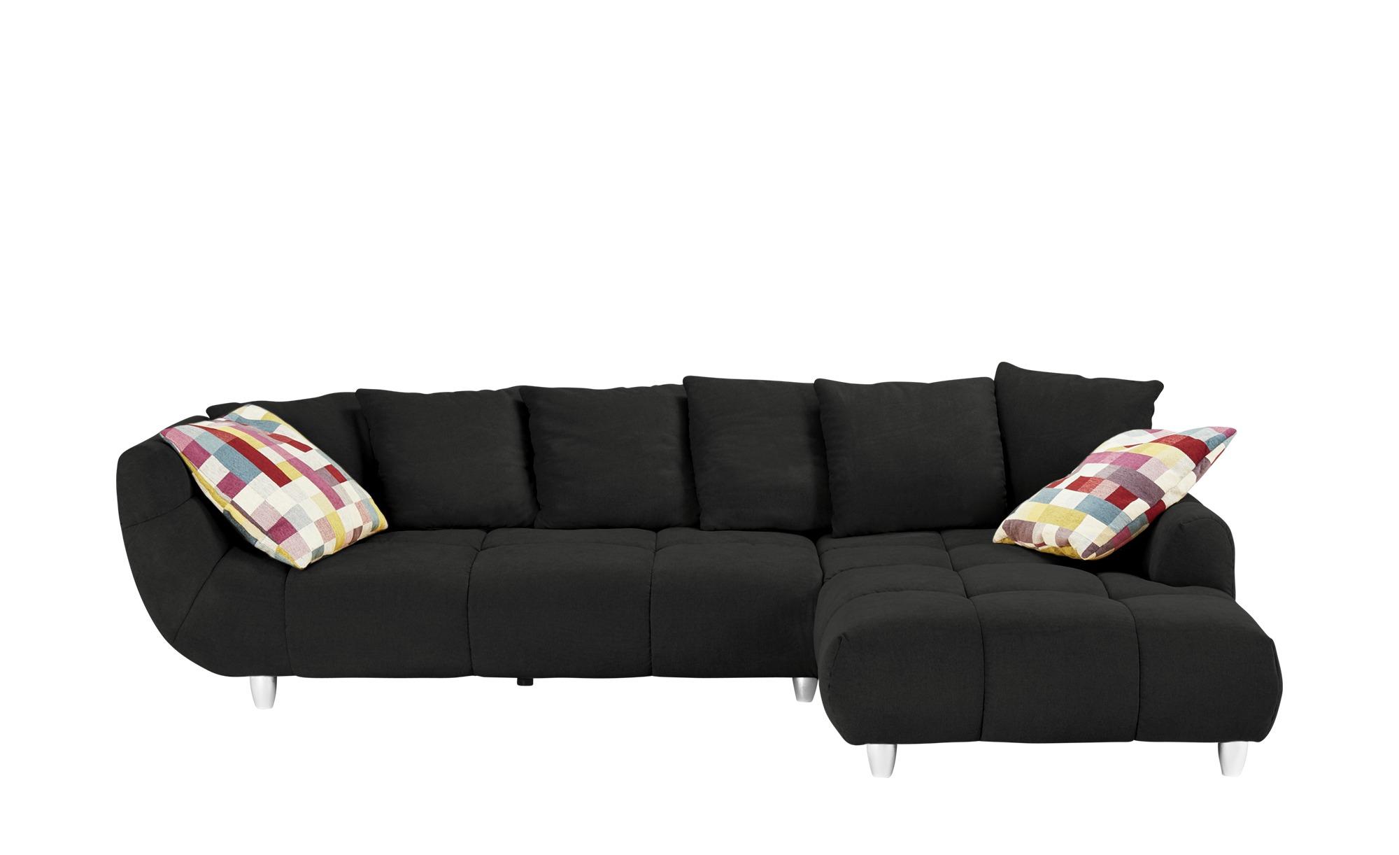 Ecksofa imke breite h he 90 cm schwarz online kaufen bei for Ecksofa 1 90