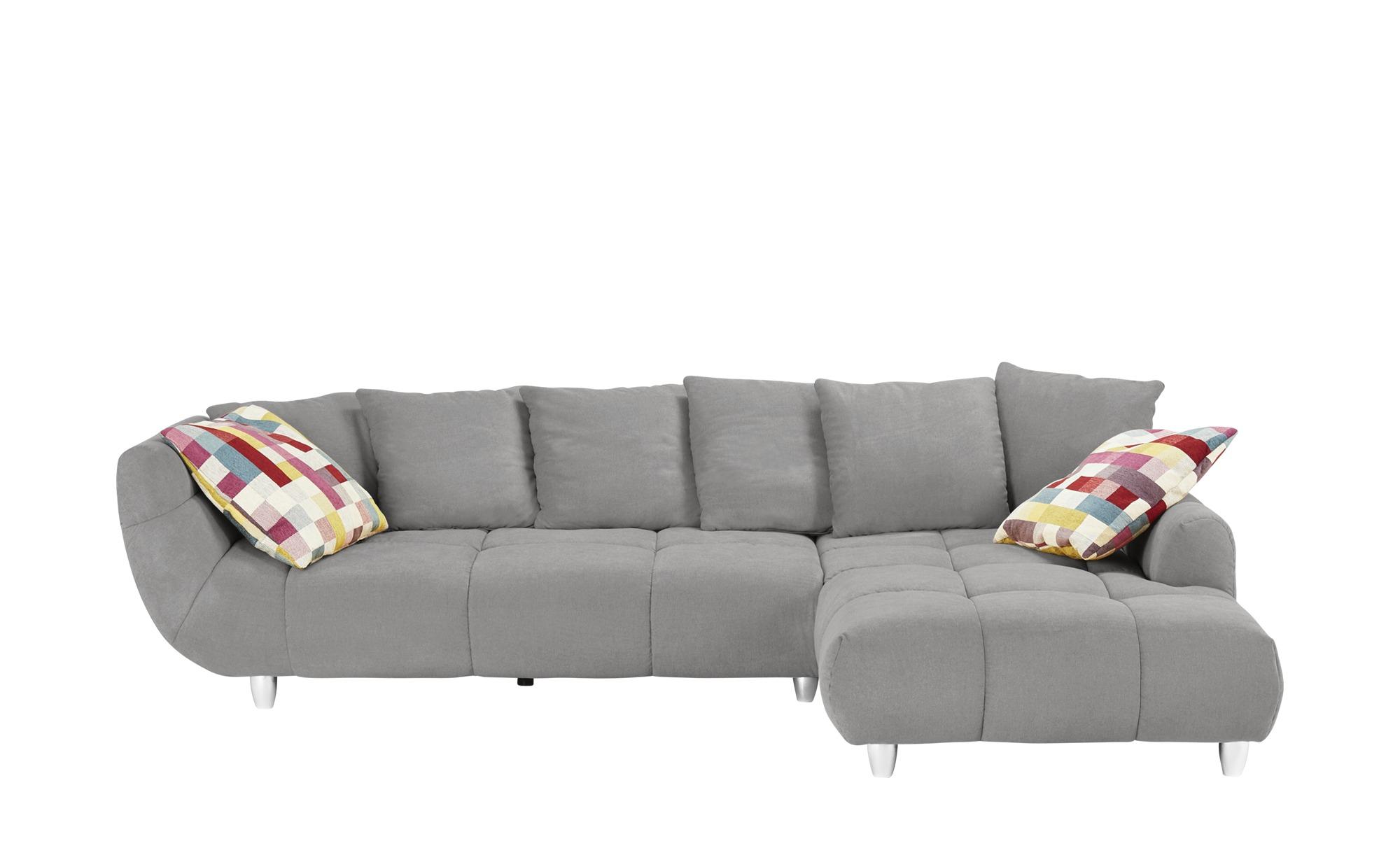 Ecksofa imke breite h he 90 cm grau online kaufen bei woonio for Ecksofa breite 200 cm