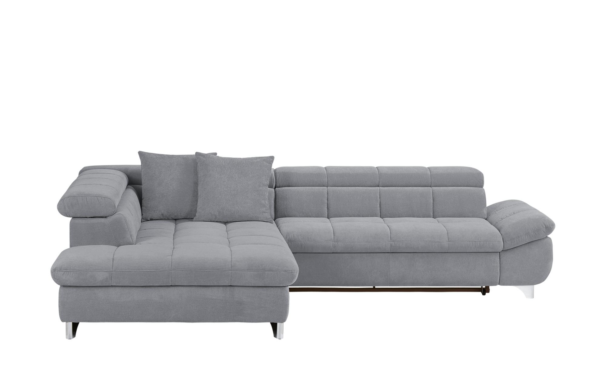 Ecksofa lorena breite h he 79 cm grau online kaufen bei for Ecksofa breite 200 cm