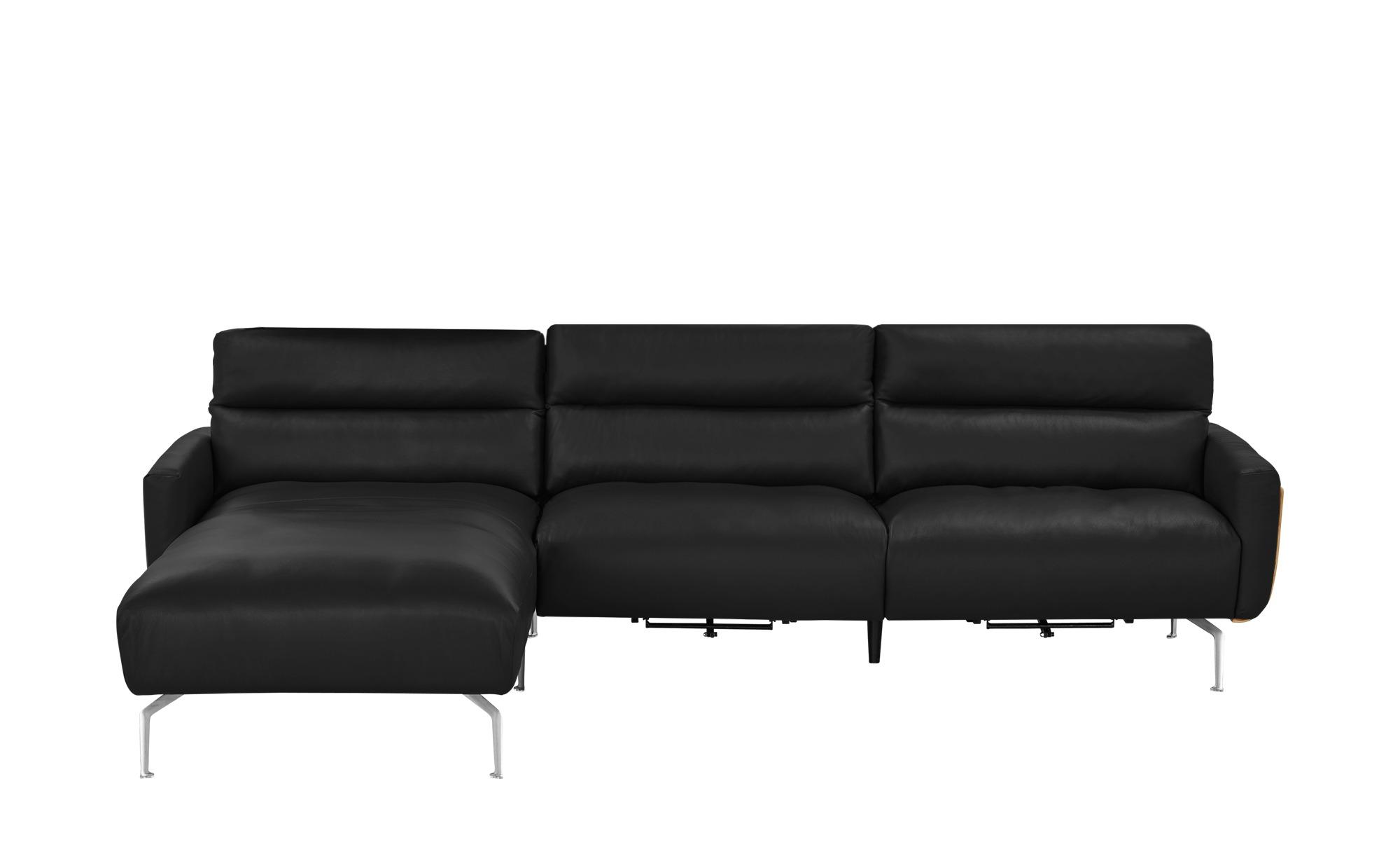 Ecksofa mads breite h he 90 cm schwarz online kaufen bei for Ecksofa 1 90