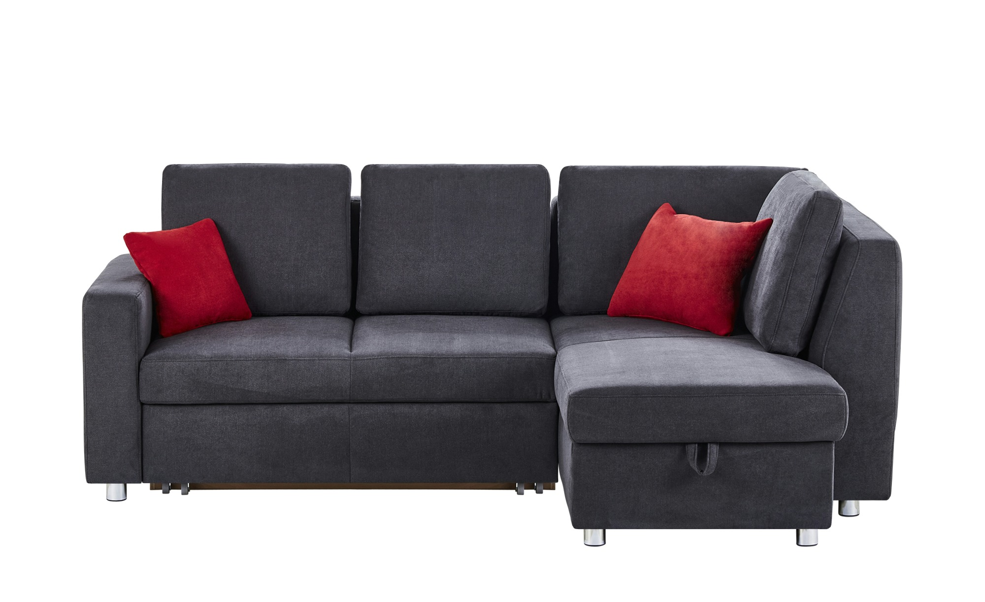 ecksofa michaela breite h he 90 cm grau online kaufen bei woonio. Black Bedroom Furniture Sets. Home Design Ideas