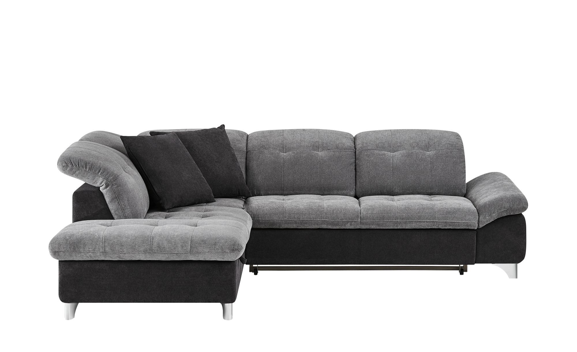 Ecksofa mira breite h he 83 cm grau online kaufen bei woonio for Ecksofa breite 200 cm