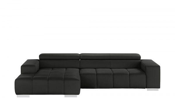 Ecksofa  Origo Ecksofa  Origo-Ecksofa-schwarz Breite: Höhe: 70 cm schwarz