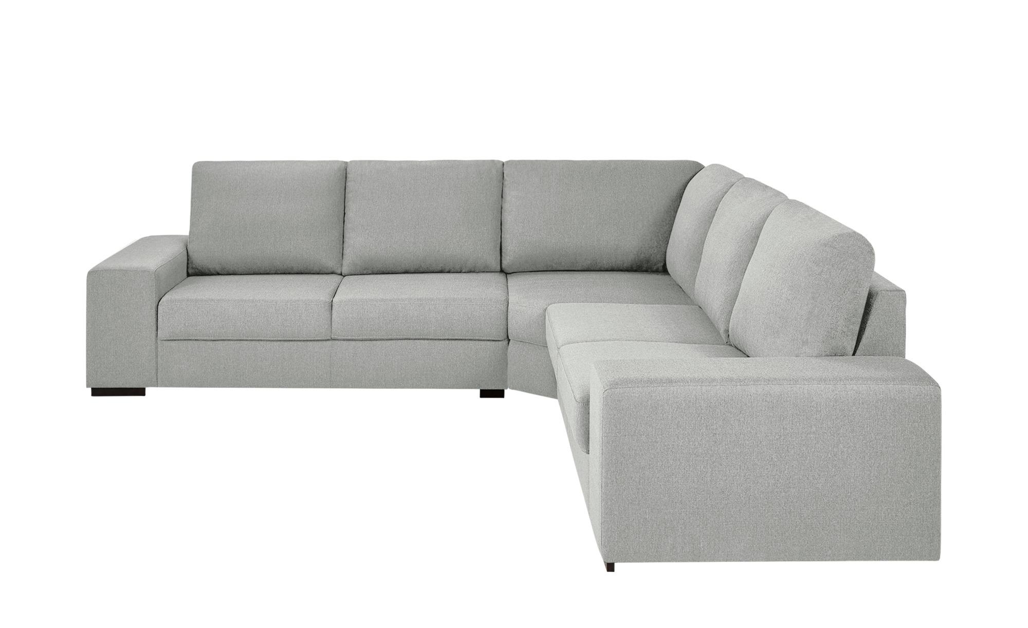 Ecksofa rene breite h he 90 cm grau online kaufen bei for Ecksofa breite 200 cm