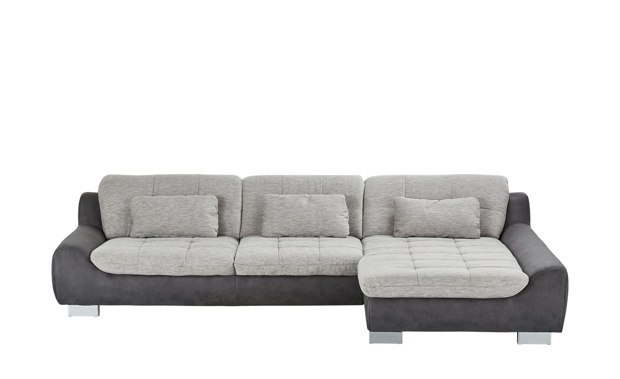ecksofa sandra breite h he 90 cm grau online kaufen bei woonio. Black Bedroom Furniture Sets. Home Design Ideas
