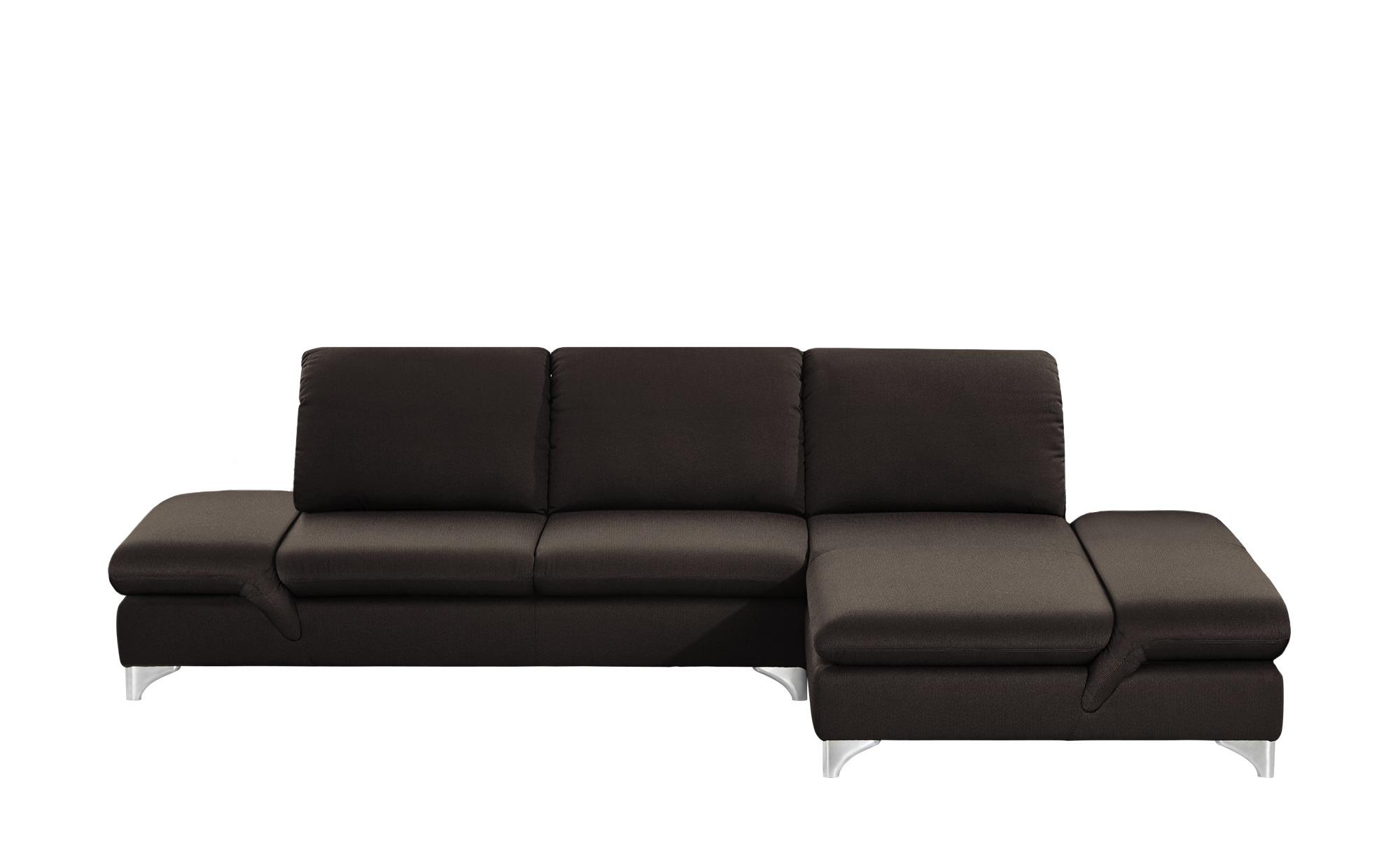 Ecksofa saraa breite h he 84 cm braun online kaufen bei for Ecksofa breite 200 cm
