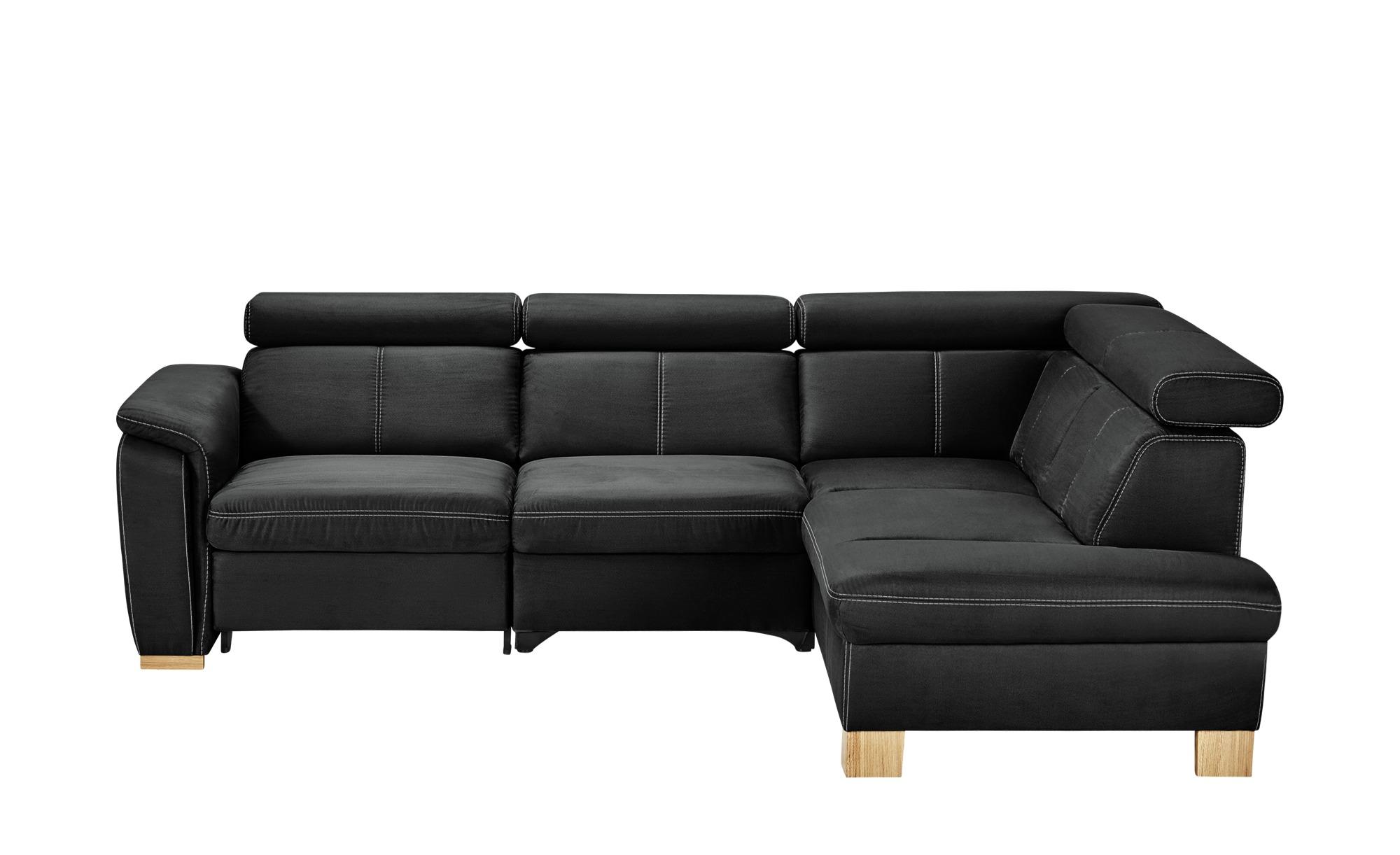 Ecksofa time breite h he 81 cm schwarz online kaufen bei for Ecksofa time