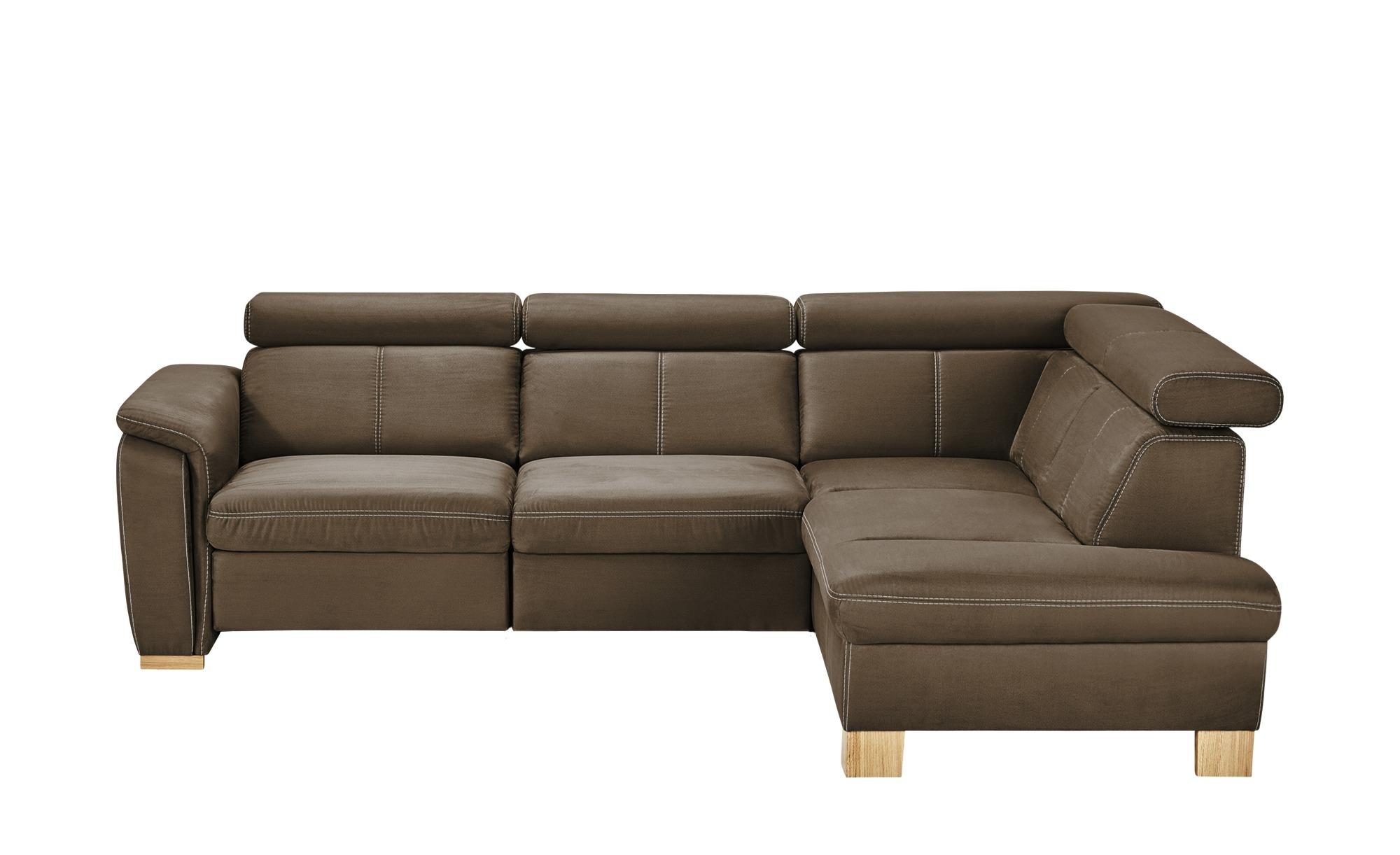 ecksofa time breite h he 81 cm braun online kaufen bei. Black Bedroom Furniture Sets. Home Design Ideas