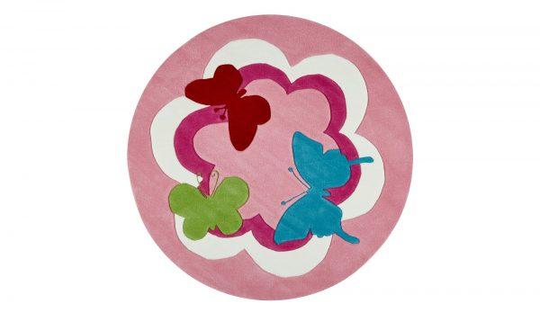 Esprit Handtuft-Teppich  Butterfly Party Esprit Handtuft-Teppich  Butterfly Party-Handtuft-Teppich-Esprit-rosa/pink-100 % Acryl Breite: Höhe: rosa/pink