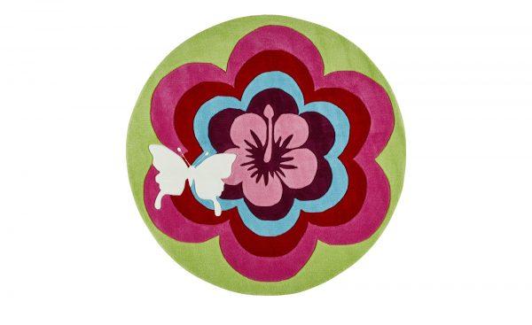 Esprit Handtuft-Teppich  Fantasy Flower Esprit Handtuft-Teppich  Fantasy Flower-Handtuft-Teppich-Esprit-mehrfarbig-100 % Acryl Breite: Höhe: mehrfarbig