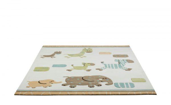 Esprit Handtuft-Teppich  Lucky Zoo Esprit Handtuft-Teppich  Lucky Zoo-Handtuft-Teppich-Esprit-beige-100 % Acryl Breite: 140 cm Höhe: beige