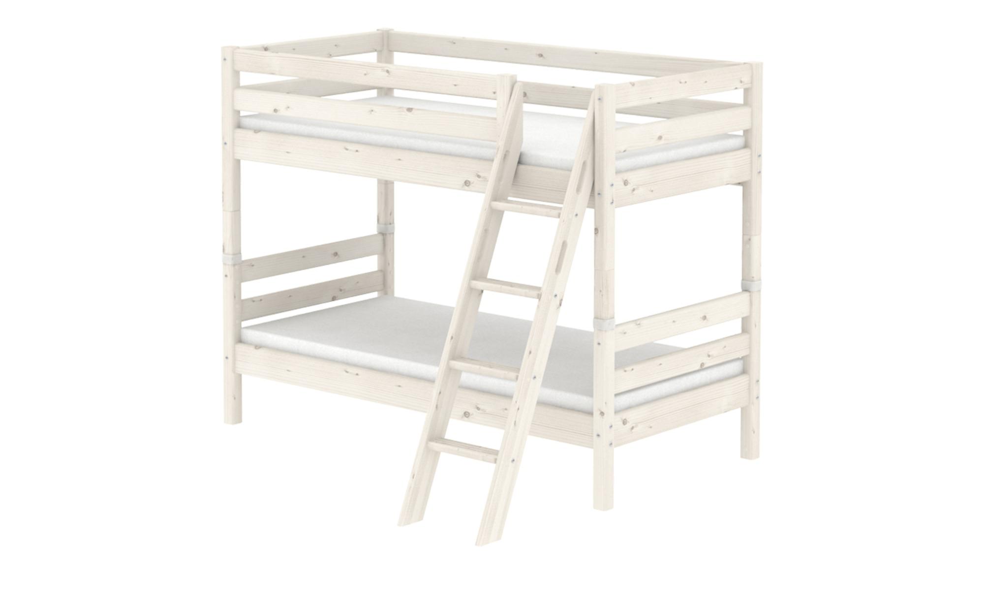 flexa etagenbett flexa classic breite 163 cm h he 154 cm wei online kaufen bei woonio. Black Bedroom Furniture Sets. Home Design Ideas