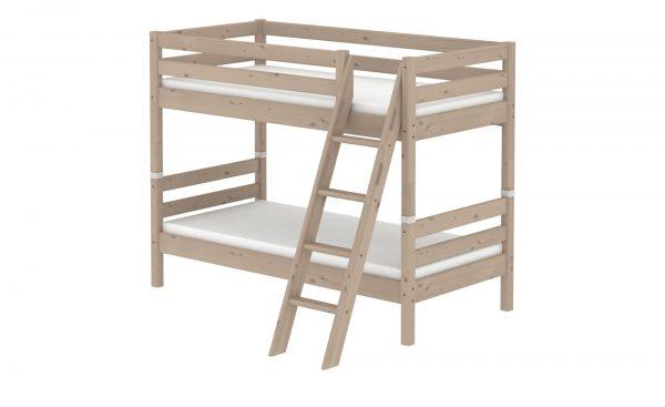 flexa etagenbett flexa classic breite 163 cm h he 154 cm holzfarben online kaufen bei woonio. Black Bedroom Furniture Sets. Home Design Ideas