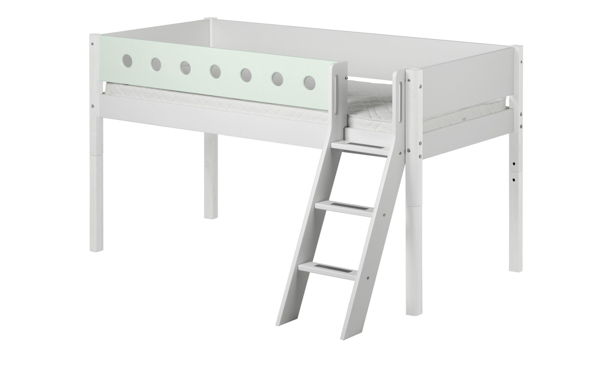 flexa halbhohes bett flexa white breite 151 cm h he 120. Black Bedroom Furniture Sets. Home Design Ideas