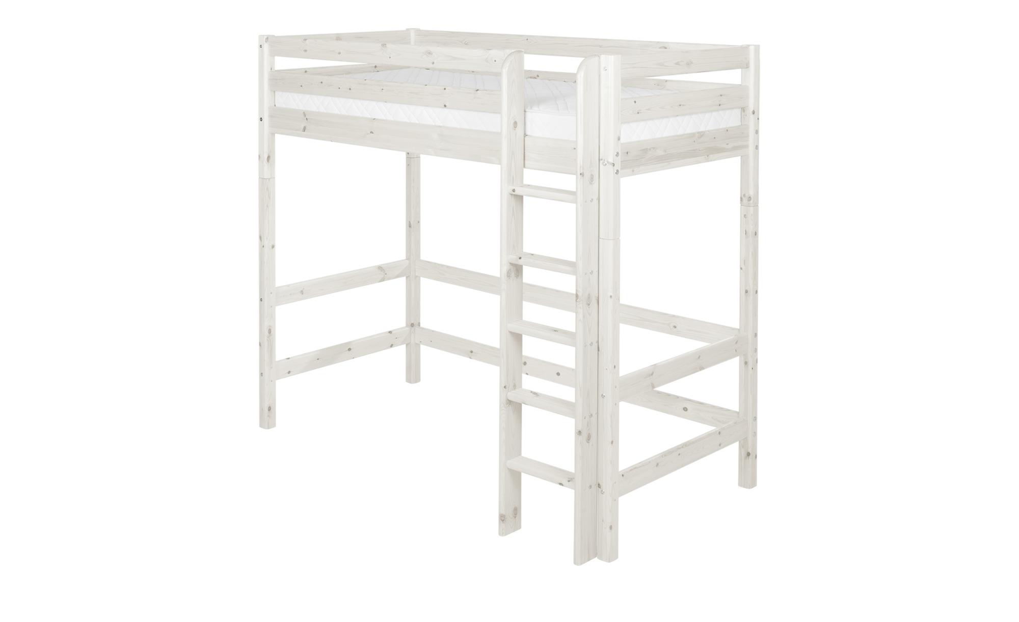 flexa hochbett flexa classic breite 110 cm h he 185 cm wei online kaufen bei woonio. Black Bedroom Furniture Sets. Home Design Ideas