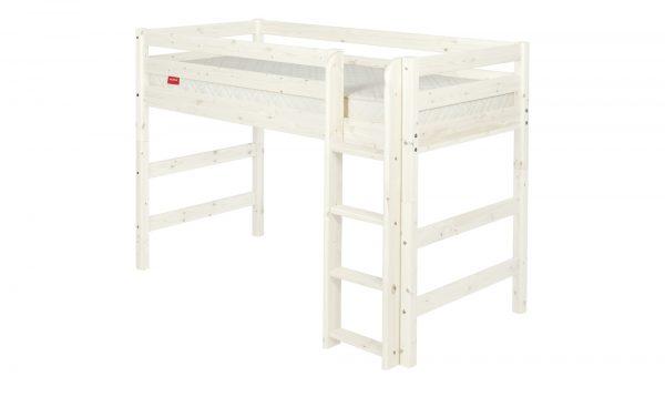 FLEXA Mittelhohes Bett   Flexa Classic FLEXA Mittelhohes Bett   Flexa Classic-Mittelhohes Bett-FLEXA-weiß Breite: 210 cm Höhe: 143 cm weiß
