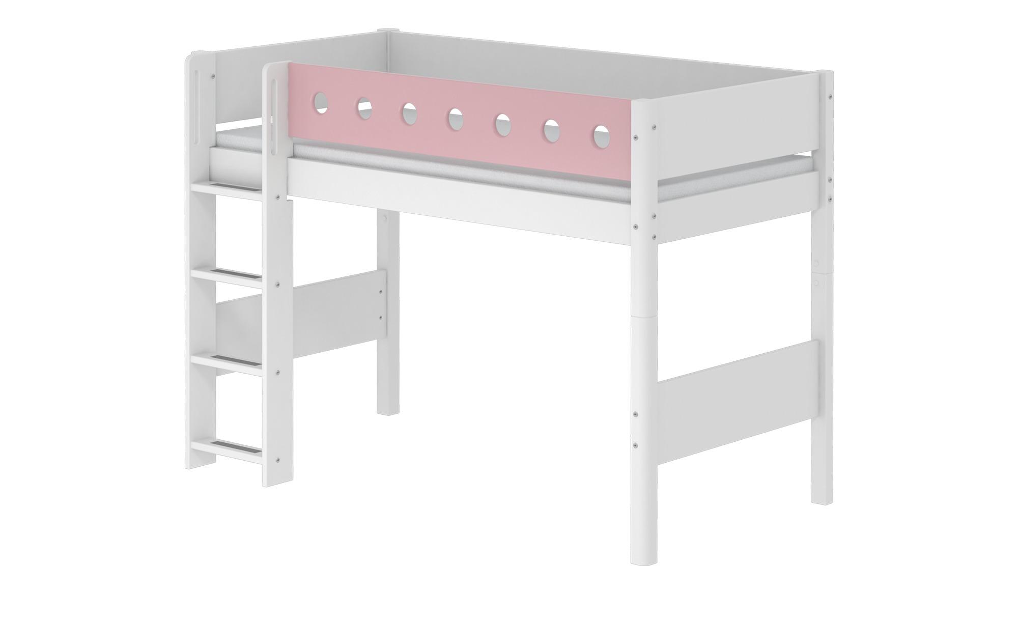 Bezaubernd Flexa Mittelhohes Bett Ideen Von Mit Leiter White Breite: 109 Cm Höhe:
