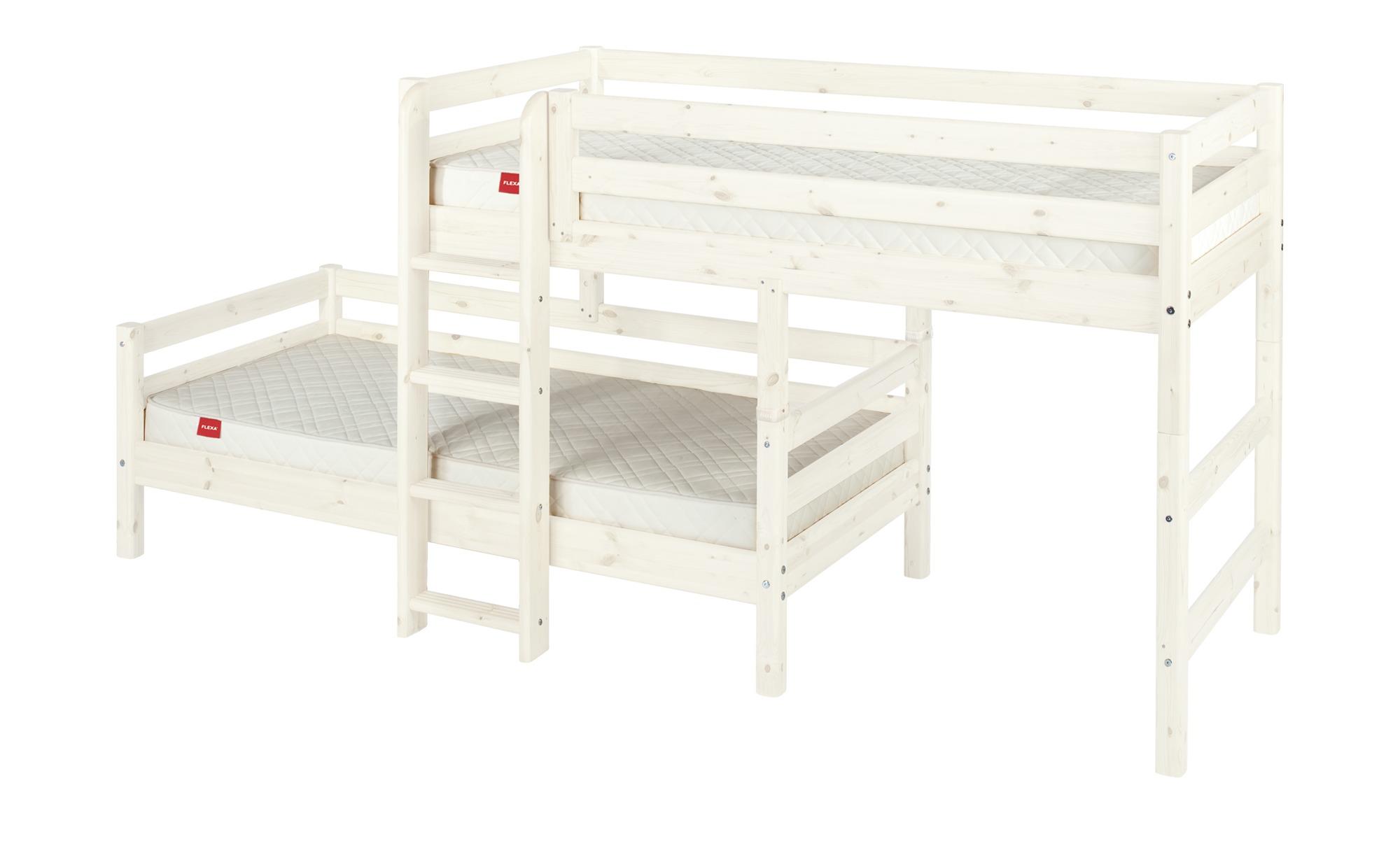 Exquisit Flexa Mittelhohes Bett Referenz Von Kombibett Mit Leiter Classic Breite: 210 Cm