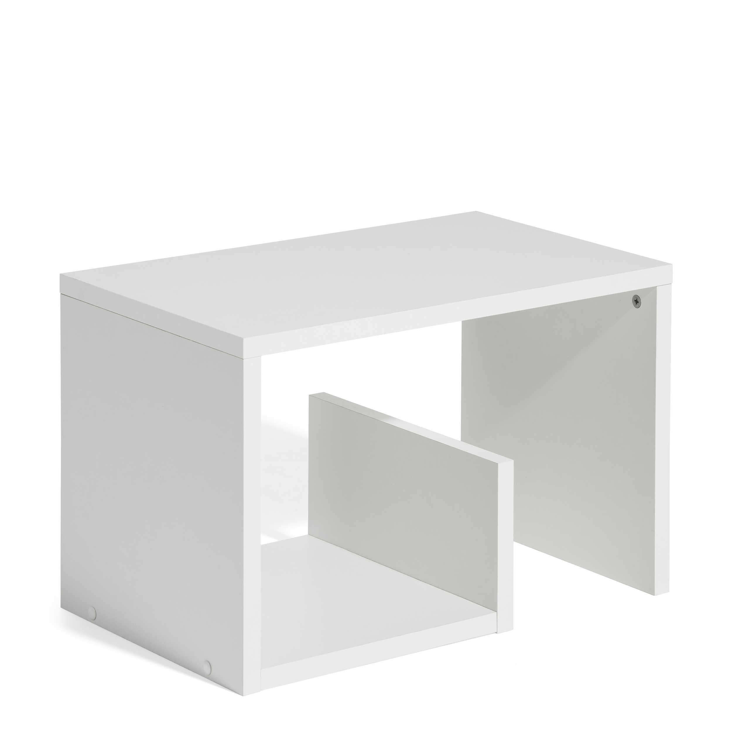 fmd beistelltisch alia wei kunststoff online kaufen bei. Black Bedroom Furniture Sets. Home Design Ideas