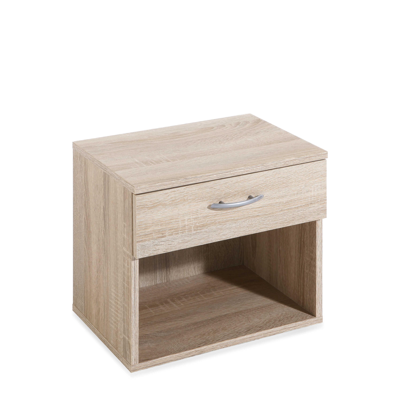 fmd nachttisch joannis eiche holzoptik online kaufen bei. Black Bedroom Furniture Sets. Home Design Ideas