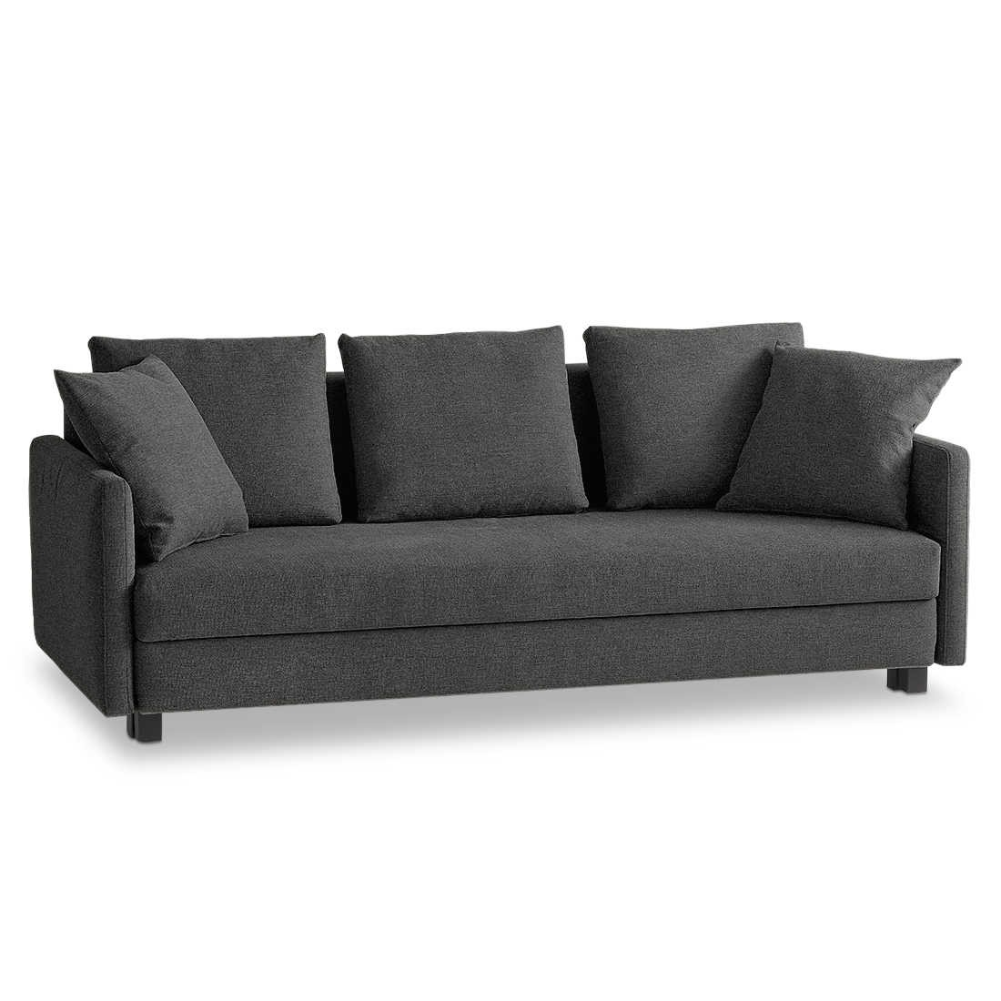 franz fertig schlafsofa jester grau stoff online kaufen bei woonio. Black Bedroom Furniture Sets. Home Design Ideas