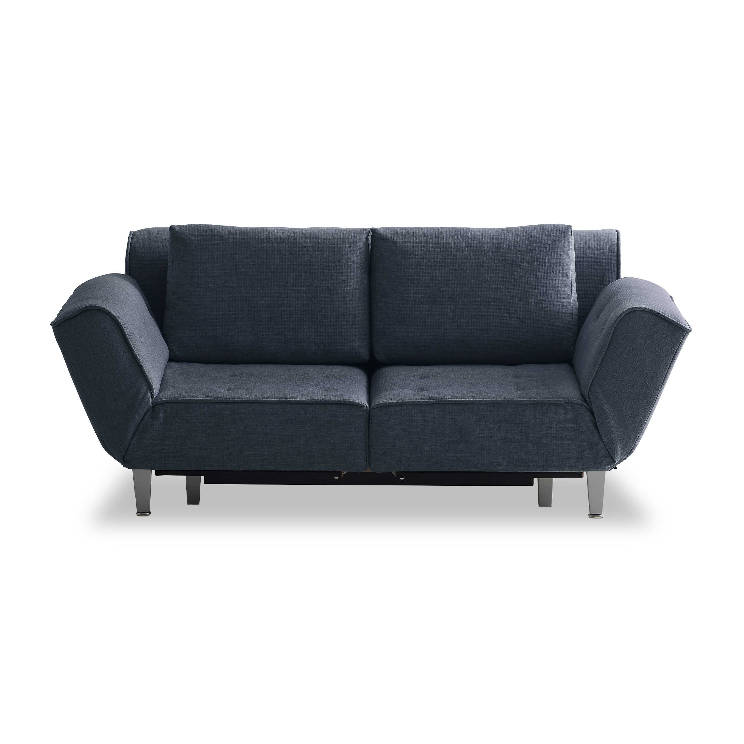 franz fertig schlafsofa joss blau stoff online kaufen bei woonio. Black Bedroom Furniture Sets. Home Design Ideas