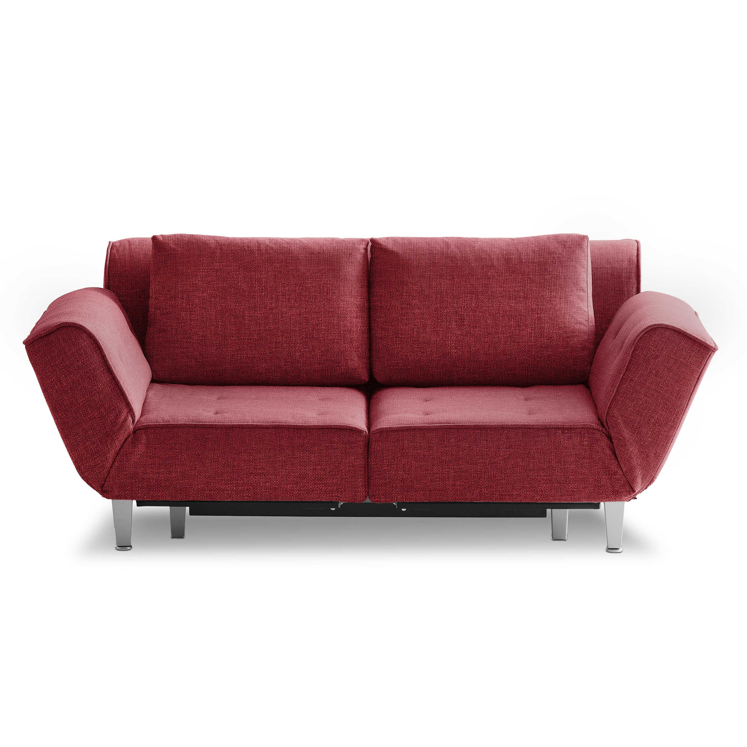 franz fertig schlafsofa joss rot stoff online kaufen bei woonio. Black Bedroom Furniture Sets. Home Design Ideas