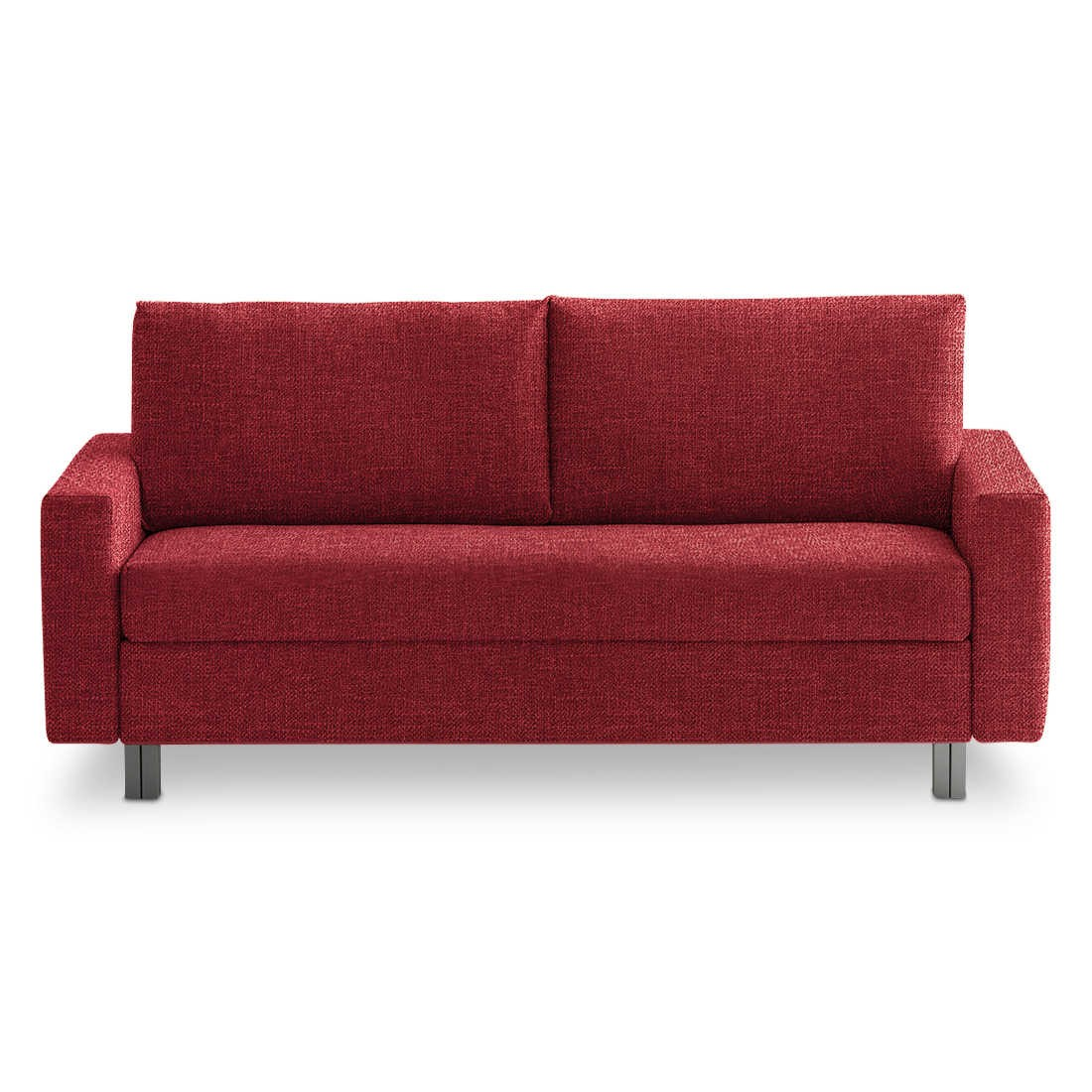 franz fertig schlafsofa maxita rot stoff online kaufen bei. Black Bedroom Furniture Sets. Home Design Ideas
