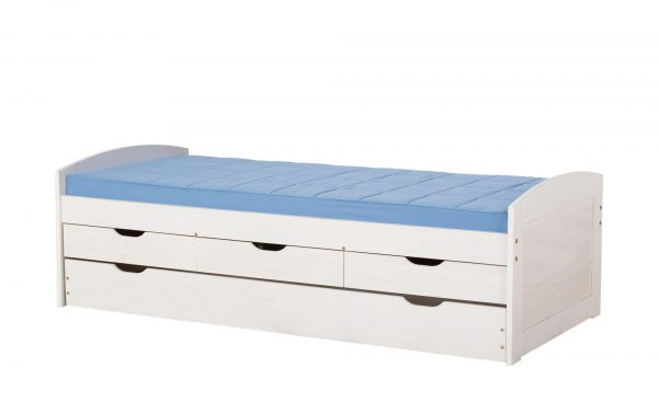 Funktionsbett  Ulli Funktionsbett  Ulli-Funktionsbett-weiß Breite: 98 cm Höhe: 63 cm weiß