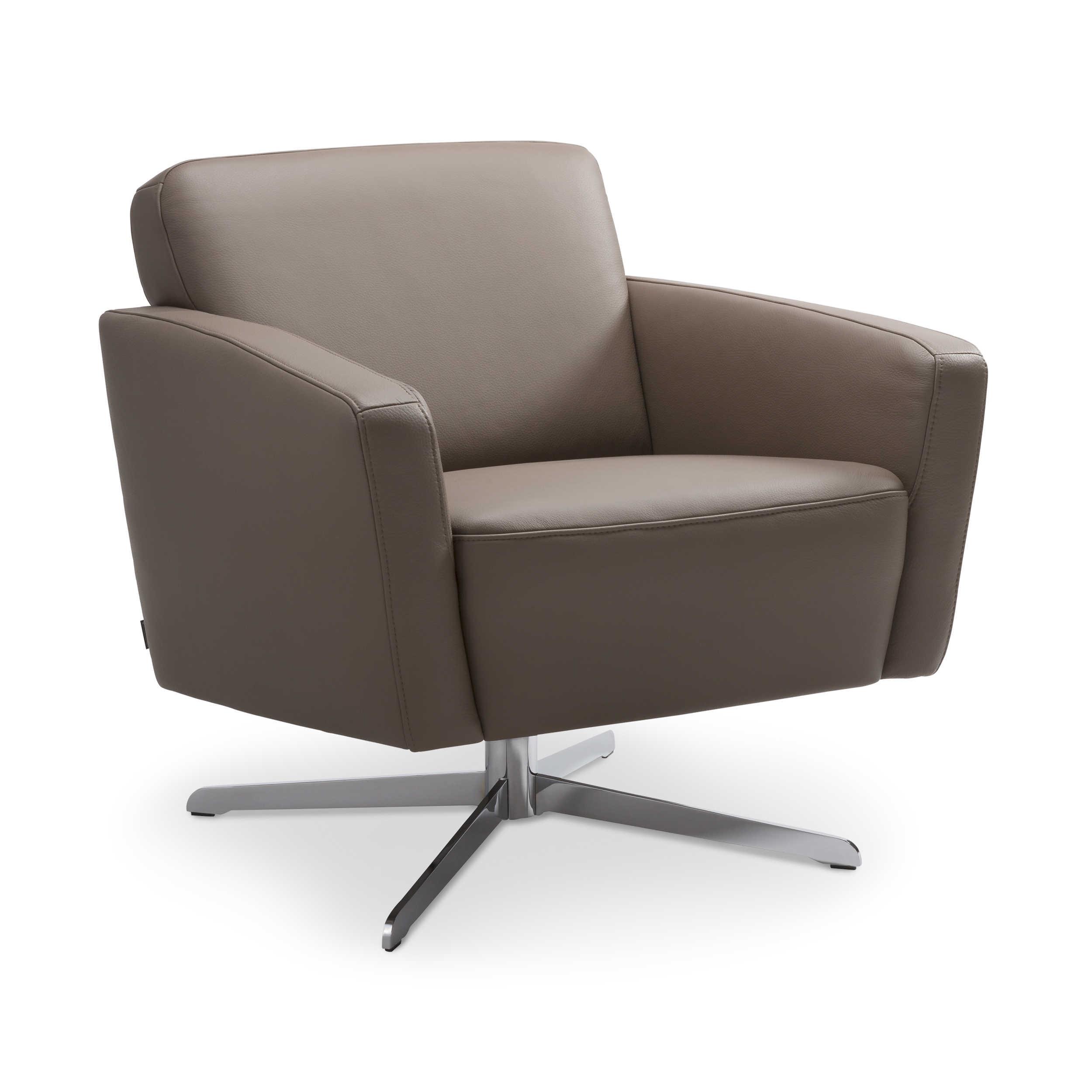 gallery m sessel emilia braun leder online kaufen bei woonio. Black Bedroom Furniture Sets. Home Design Ideas