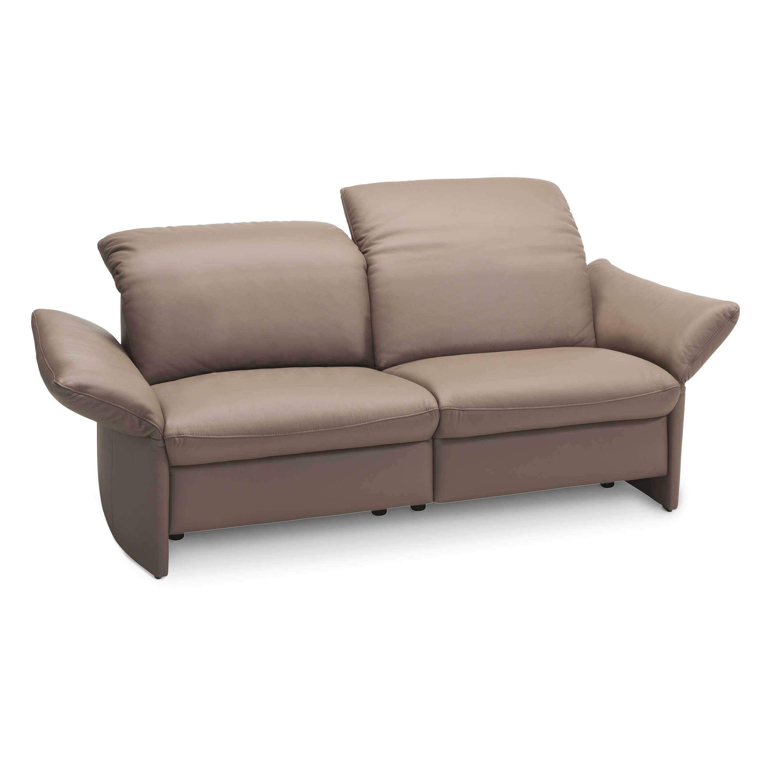 gallery m sofa viviana braun leder online kaufen bei woonio. Black Bedroom Furniture Sets. Home Design Ideas