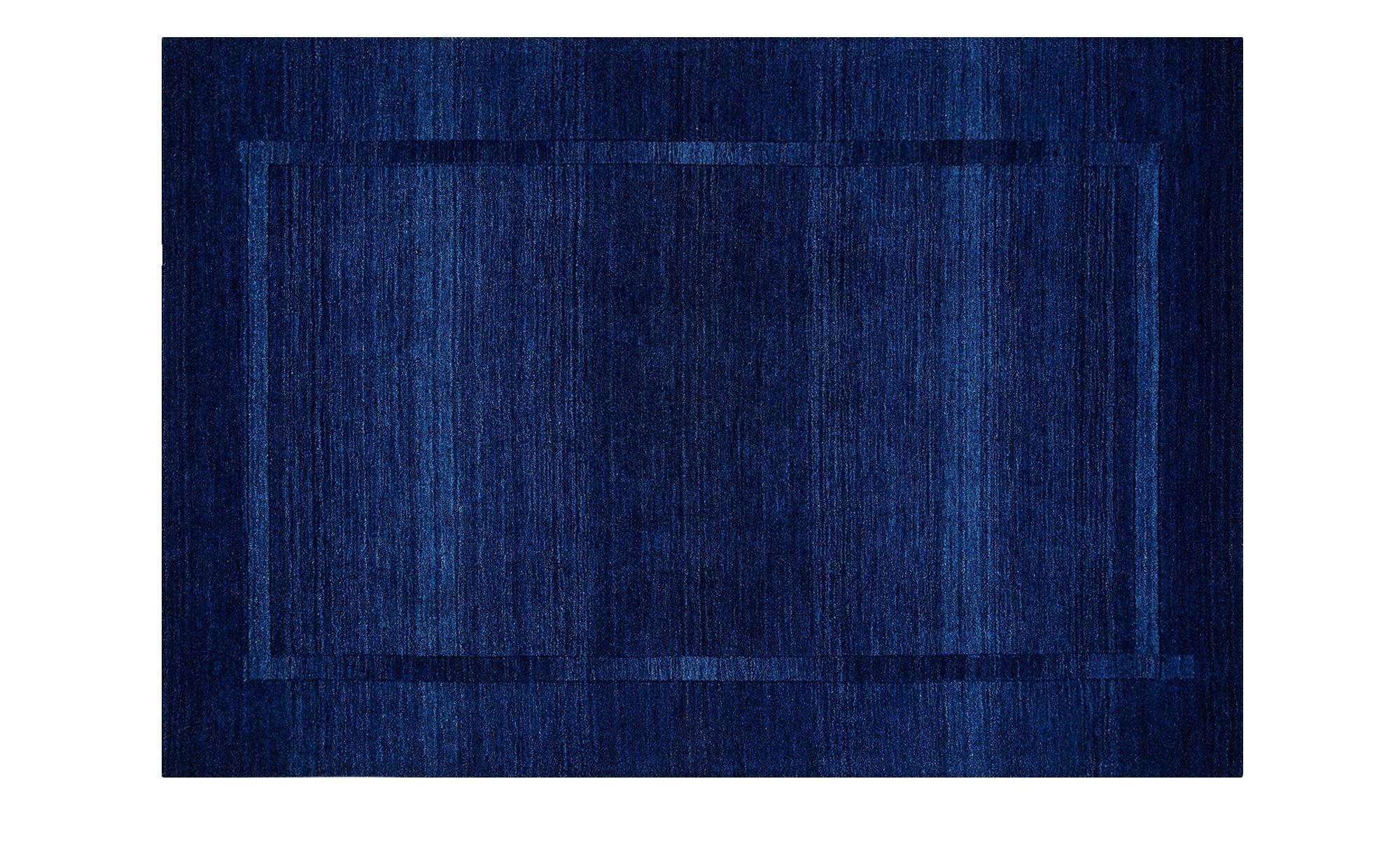 handtuft teppich gabari breite 130 cm h he blau online. Black Bedroom Furniture Sets. Home Design Ideas