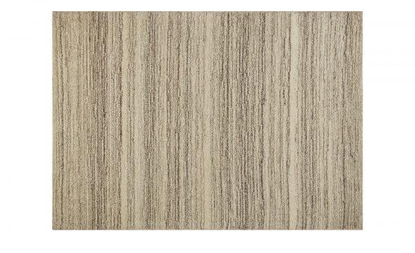Handtuft-Teppich  Maroc Super Handtuft-Teppich  Maroc Super-Handtuft-Teppich-grau-reine Wolle Breite: 130 cm Höhe: grau