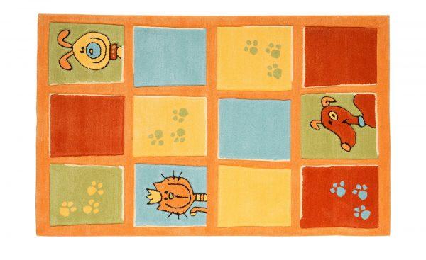 Handtuft-Teppich  Maui Handtuft-Teppich  Maui-Handtuft-Teppich-mehrfarbig-100 % Polyacryl Breite: 100 cm Höhe: mehrfarbig