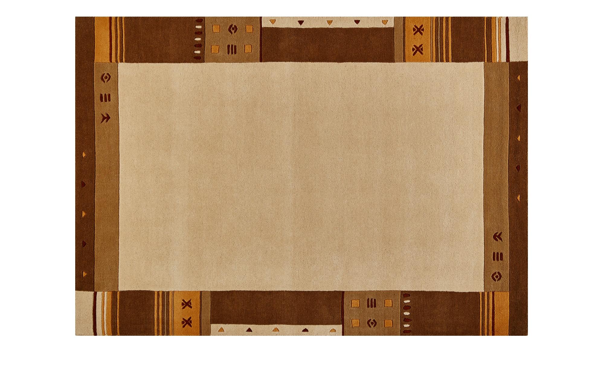 handtuft teppich nepalo breite 130 cm h he beige online. Black Bedroom Furniture Sets. Home Design Ideas