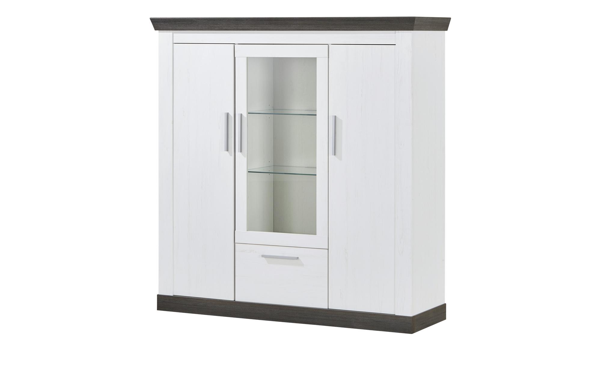 highboard sierra breite 141 cm h he 146 cm wei online kaufen bei woonio. Black Bedroom Furniture Sets. Home Design Ideas