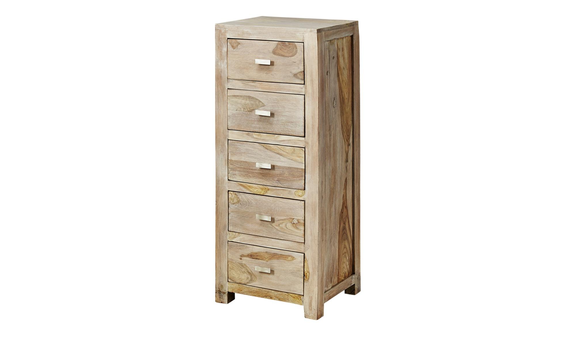 kommode casablanca breite 46 cm h he 120 cm holzfarben online kaufen bei woonio. Black Bedroom Furniture Sets. Home Design Ideas