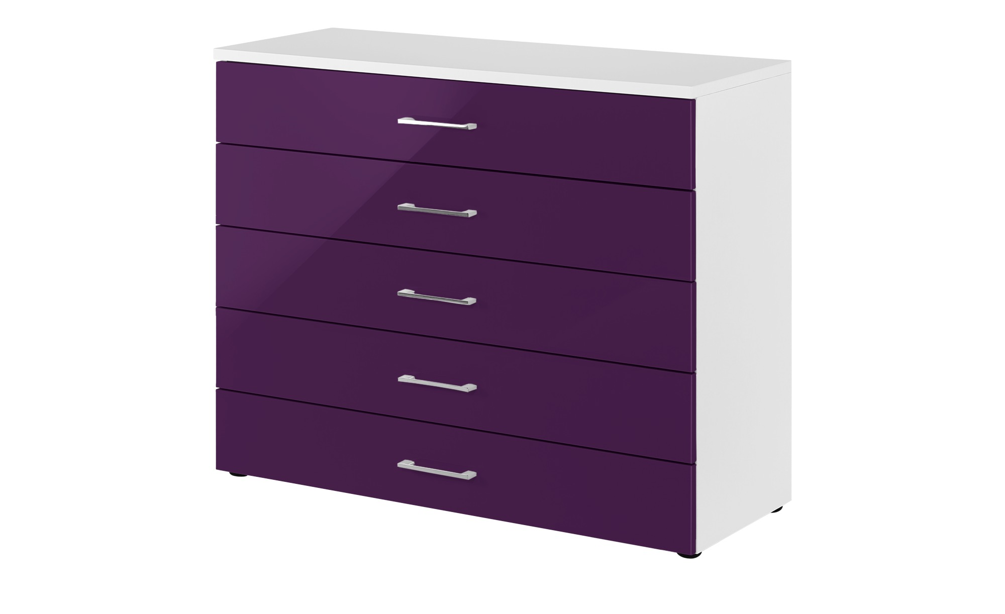 kommode colors breite 100 cm h he 84 cm lila violett online kaufen bei woonio. Black Bedroom Furniture Sets. Home Design Ideas