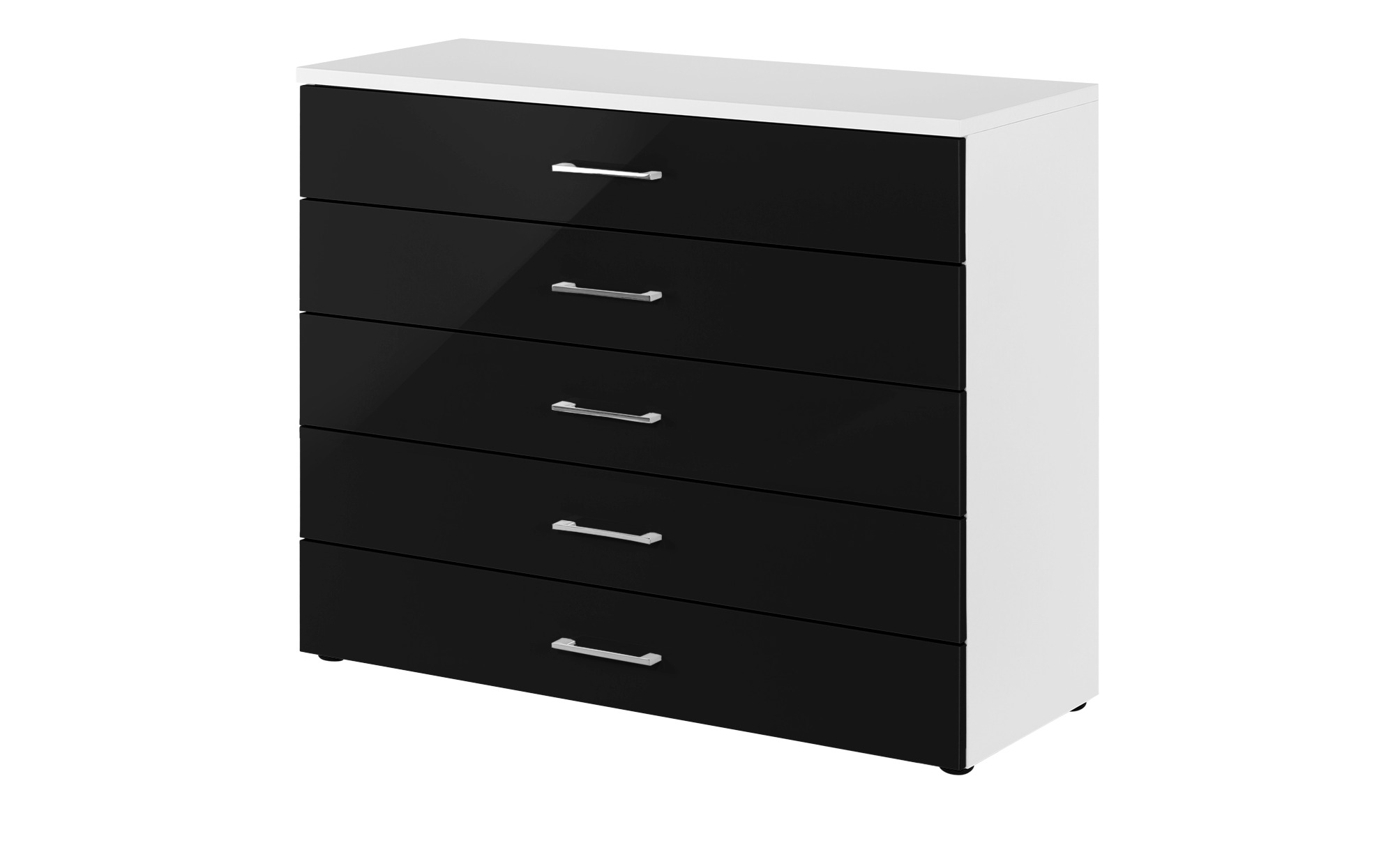 kommode colors breite 100 cm h he 84 cm schwarz online kaufen bei woonio. Black Bedroom Furniture Sets. Home Design Ideas