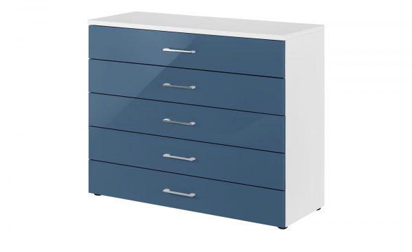 Kommode  Colors Kommode  Colors-Kommode-blau Breite: 100 cm Höhe: 84 cm blau