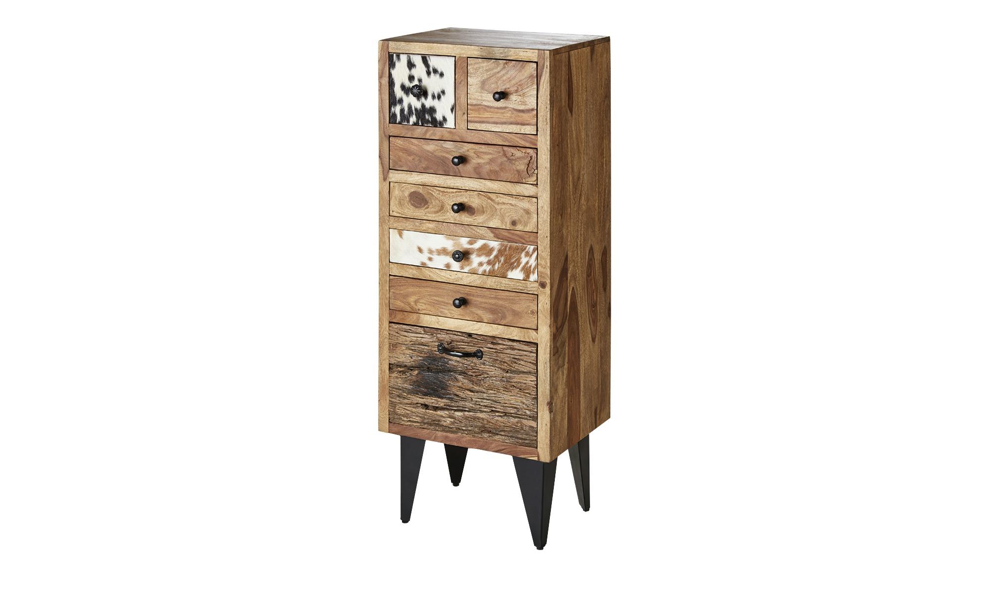 kommode cow breite 45 cm h he 122 cm holzfarben online kaufen bei woonio. Black Bedroom Furniture Sets. Home Design Ideas