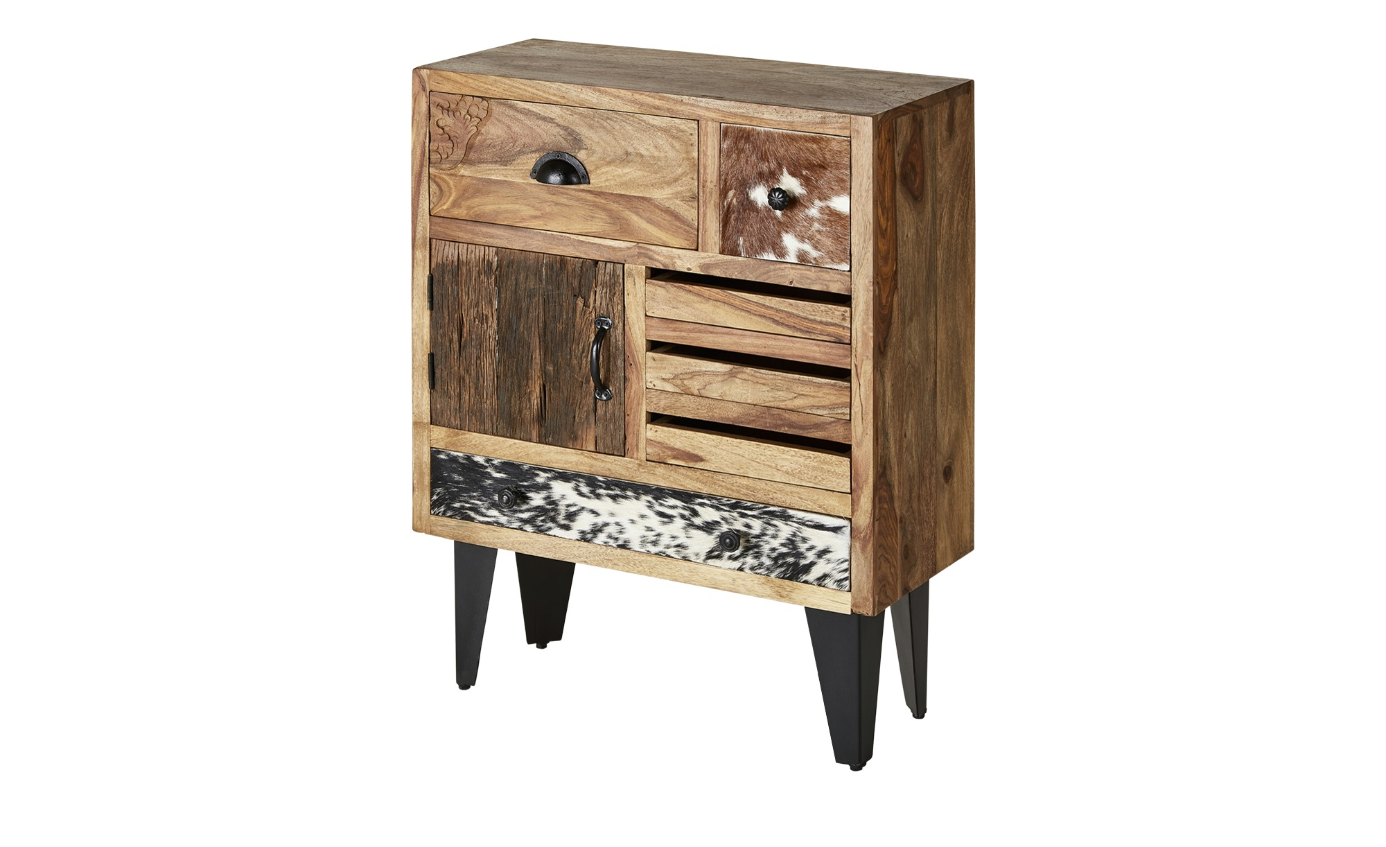 kommode cow breite 70 cm h he 89 cm holzfarben online. Black Bedroom Furniture Sets. Home Design Ideas