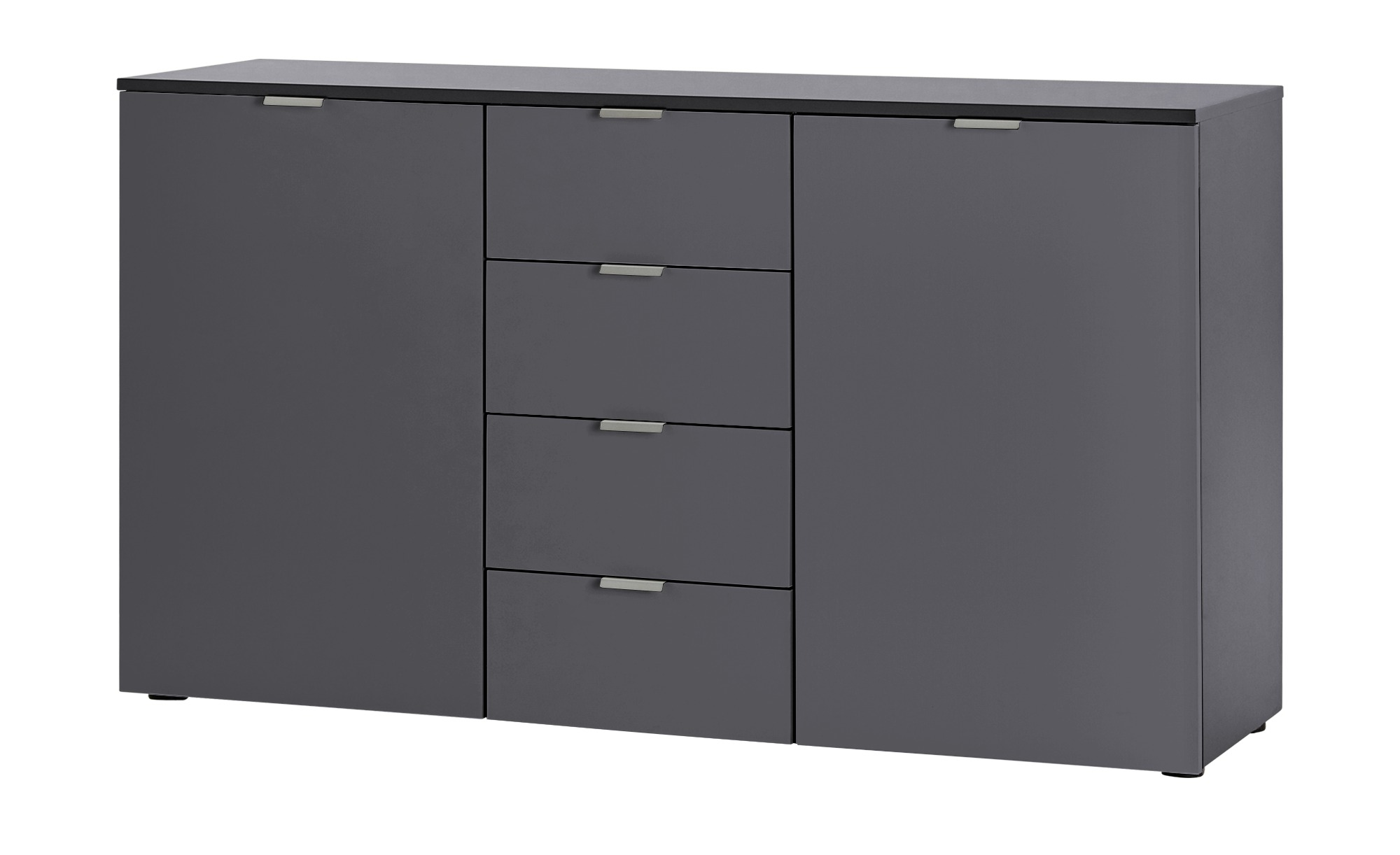 kommode dreamer breite 140 cm h he 80 cm grau online kaufen bei woonio. Black Bedroom Furniture Sets. Home Design Ideas
