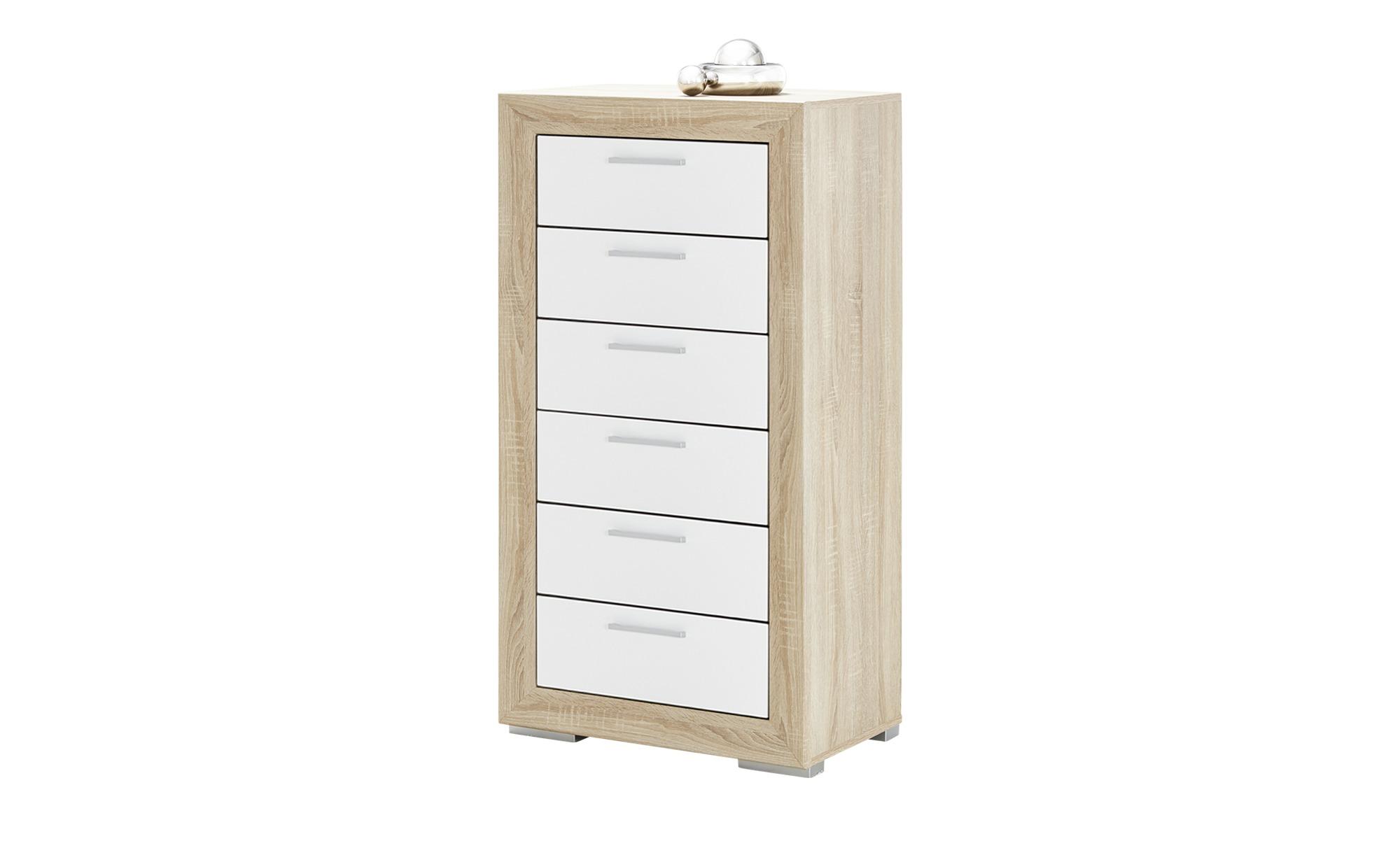 kommode fiesta breite 66 cm h he 127 cm holzfarben online kaufen bei woonio. Black Bedroom Furniture Sets. Home Design Ideas