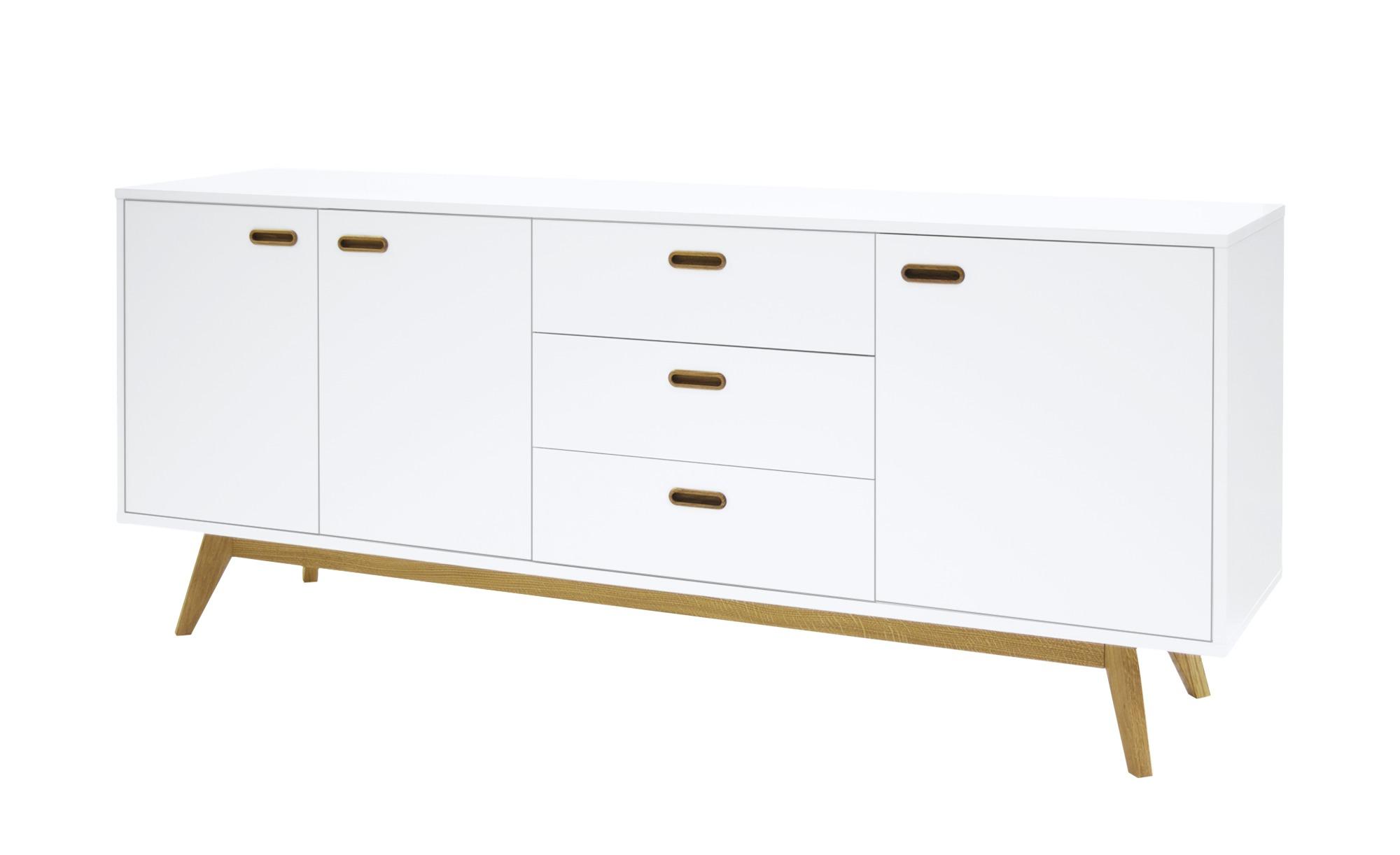 kommode jesper breite 200 cm h he 82 cm wei online kaufen bei woonio. Black Bedroom Furniture Sets. Home Design Ideas