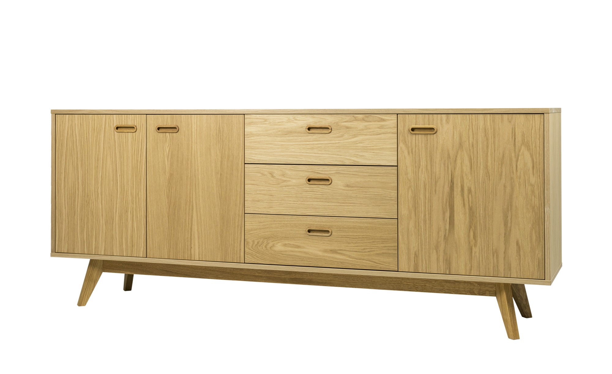 kommode jesper breite 200 cm h he 82 cm holzfarben. Black Bedroom Furniture Sets. Home Design Ideas