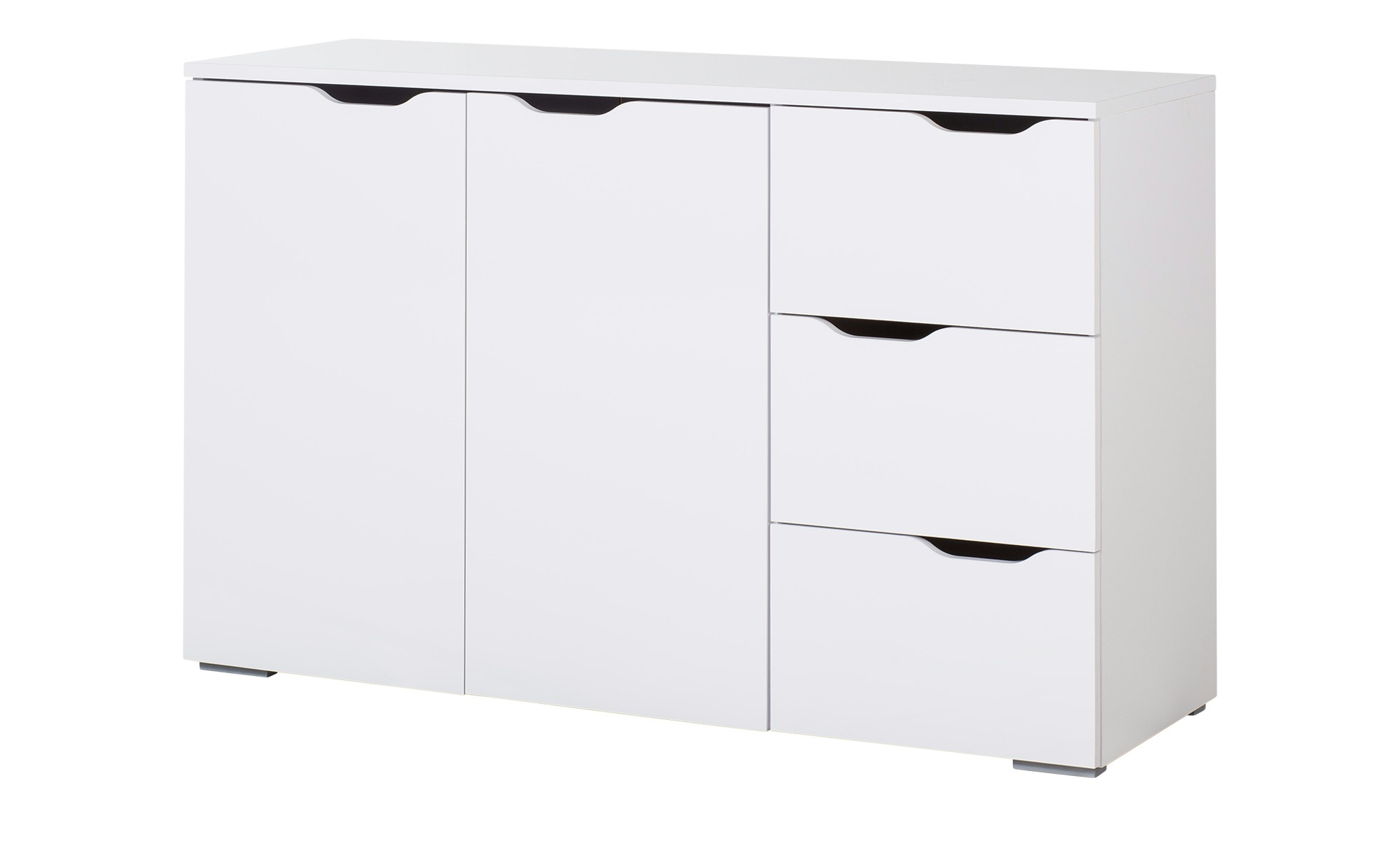 kommode maibach breite 120 cm h he 78 cm wei online kaufen bei woonio. Black Bedroom Furniture Sets. Home Design Ideas