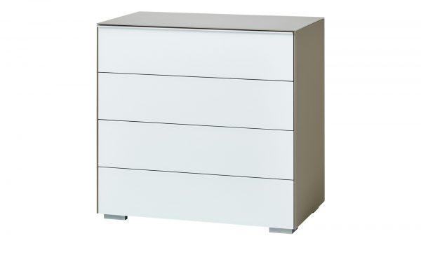 Kommode  Mailand Kommode  Mailand-Kommode-weiß Breite: 80 cm Höhe: 80 cm weiß